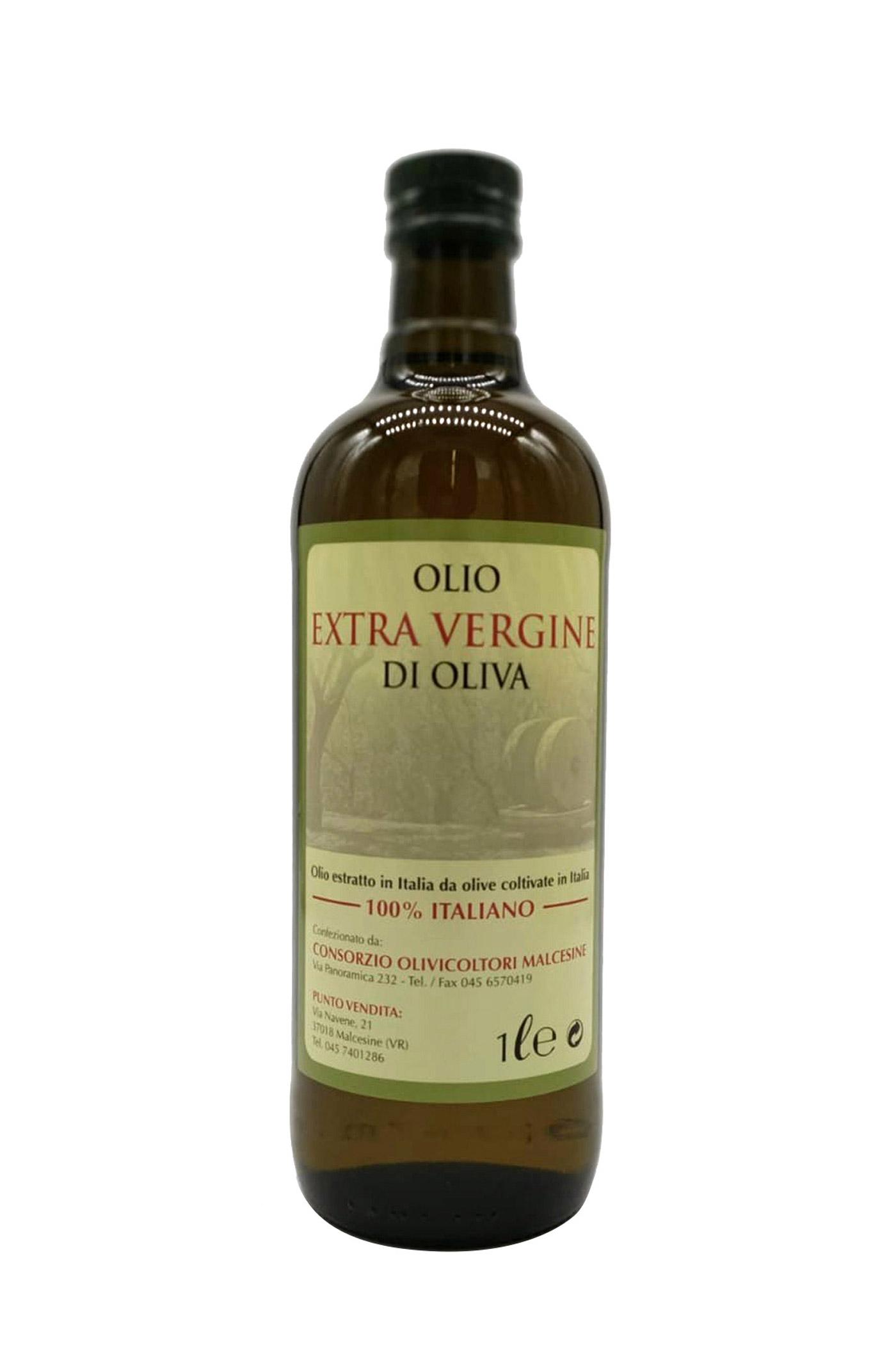 Olio Extravergine d'Oliva Imbottigliato a Malcesine 2020 1L
